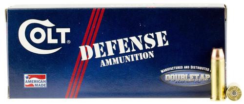 DoubleTap Ammunition Colt Defense, 38 Special, 110Gr, Jacketed Hollow Point, 20rd Box