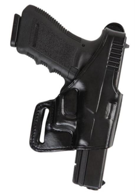 Bianchi 75 Venom Belt Slide Holster S&W M&P 9mm-40 Right Hand Black