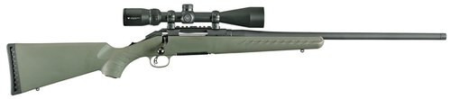 "Ruger American Predator Rifle .204 Ruger 22"" Barrel Vortex Crossfire II 4-12x44mm Riflescope Moss Green Composite Stock 5 Round"