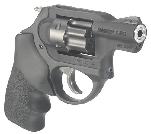 "Ruger LCRx 22 Win Mag (WMR) 1.87"" Barrel Black Hogue Tamer Monogrip 6rd"