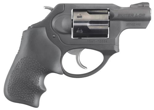 "Ruger LCRx Single/Double 327 Federal Mag, 1.87"" 5 rd Black Hogue Tamer Monogrip Grip Black"
