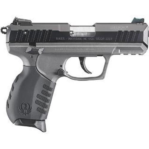 "Ruger SR22 Pistol, 22LR, 3.5"", 10rd, Tungsten Cerakote Frame"