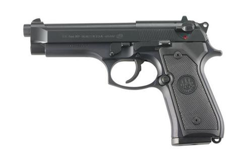 "Beretta M9 22LR, 5.3"", 10rd, Black Rubber Grip, Black"