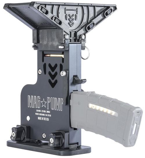 MagPump AR-15 Elite Magazine Reloader 223/5.56/300 Blackout Mag Loader, Billet Aluminum