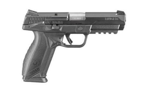 "Ruger American Pistol, 45 ACP, 4.5"", 10rd, Black Nitride Finish"
