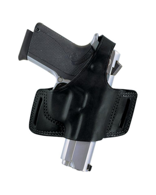 Bianchi 5 Black Widow Holster Ruger LCR .38 Special Plain Black Right Hand