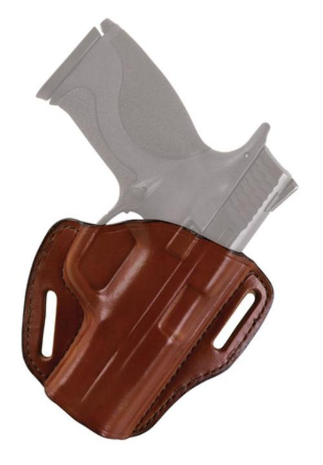 "Bianchi 58 P.I. Holster For Semiautomatics And Small Frame Revolvers 1.875"" Barrel Plain Tan Right Hand"