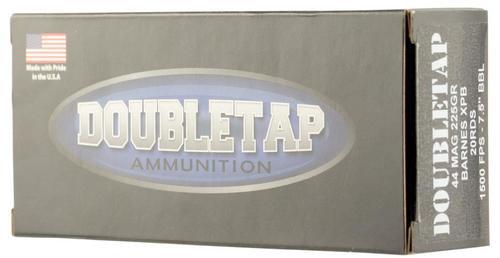 DoubleTap DT Hunter 44 Remington Magnum 225gr, Barnes XPB, 20rd Box