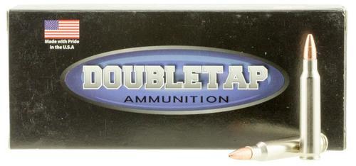 DoubleTap Ammunition Lead Free, 223 Remington, 55Gr, Solid Copper Hollow Point, 20rd Box, CA Certified Nonlead Ammunition