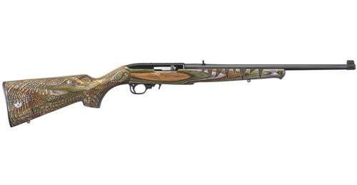 "Ruger 10/22 Gator, 22LR, 18.5"", Laminated Engraved Gator Stock, Blued, Talo Exclusive"
