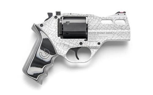 "Chiappa White Rhino 30DS, .357 Mag, 4"", Cerakote & Skin Laser FinishChiappa Firearms Rhino 30ds 357mag 4 Chrome As"
