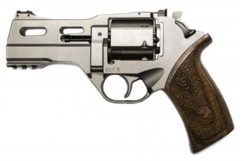 "Chiappa Rhino 40DS, .40 S&W, 4"", Hard Chrome, Adjustable Sights"
