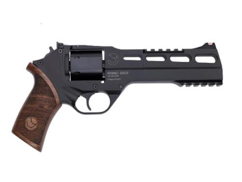 "Chiappa Rhino 60DS, .357 Mag, 6"" Barrel, Adjustable Rear Sight and Fiber Optic Front Sight 6rd"