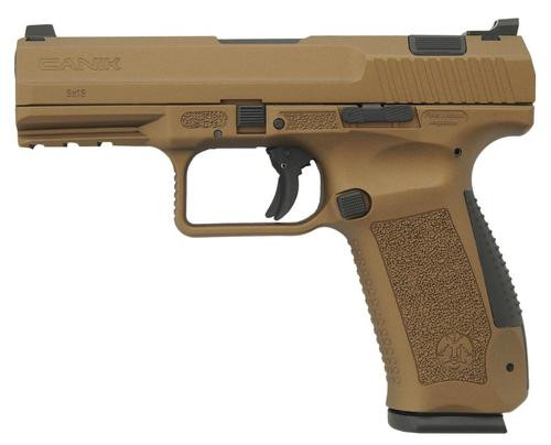 "Canik TP9DA, 9mm, 4.07"", 18rd, Burnt Bronze Finish"