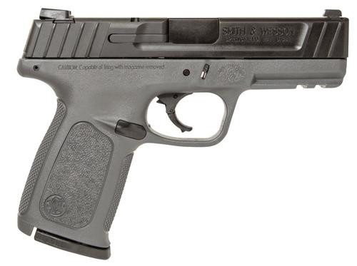 """Smith & Wesson SD9, 9mm, 4"""", 16rd, Black Armornite Stainless Steel"""