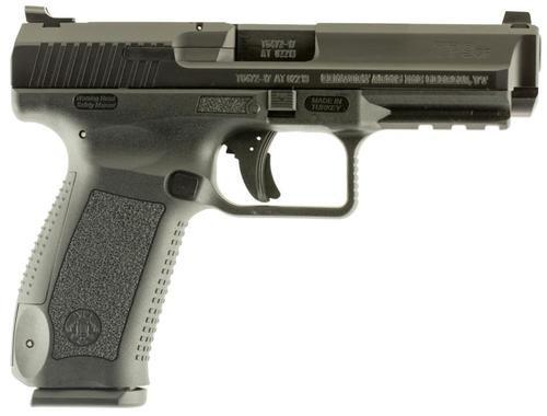 "Canik TP9SF, 9mm, 4.46"", 10rd, Black Cerakote"