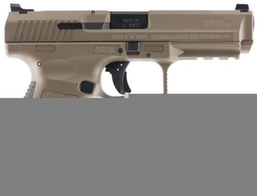 "Canik TP9SF 9mm, 4.46"", 10rd, Desert Tan Cerakote"