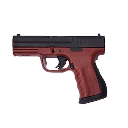 "FMK 9C1 G2 FAT Engraved 9mm, 4"", 14rd, Drop Free Mag, Crimson Red"