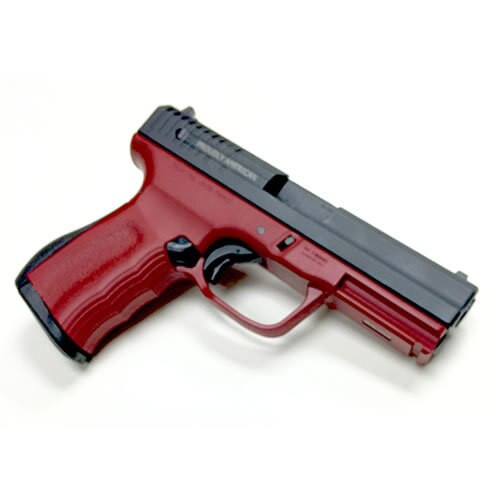 "FMK 9C1 G2 FAT 9mm 4"" Barrel, 14rd, Drop Free Mag, Crimson Red, FS"