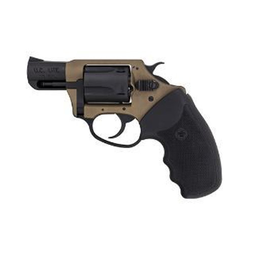 """Charter Arms Earthborn Undercover Lite, .38 Special, 2"""", 5rd, Earthtone/Black"""