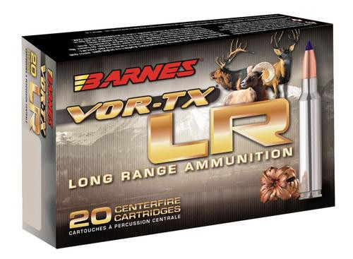 Barnes VOR-TX Long Range 6.5 Creedmoor 127gr, LRX Boat Tail 20 Bx Loaded Ammo
