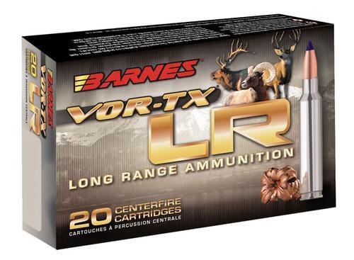 Barnes VOR-TX Long Range 6.5 Creedmoor 127gr, LRX Boat Tail 20 Bx Loaded Ammo
