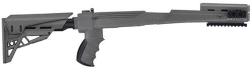 Advanced Technology Strikeforce Adjustable Side-Folding TactLite Stock For Most SKS Rifles Destroyer Gray