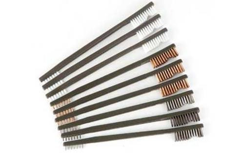 Otis 9 Pack Ap Brushes (3 Nylon/3 Bronze/3 Stainless Steel)
