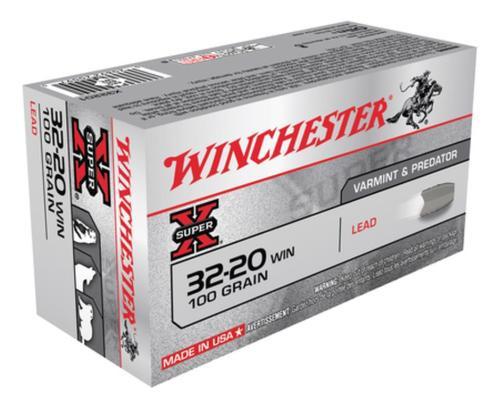 Winchester Super X 32-20 Winchester Lead 100gr, 50rd Box