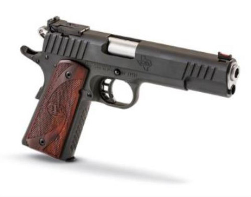 "STI Trojan 1911 9mm, Blued, 5.0"" Bushing Barrel, 2 x 9rd Mag"