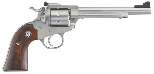"Ruger Blackhawk Bisley 22LR, 6.5"" Barrel, Stainless Steel"