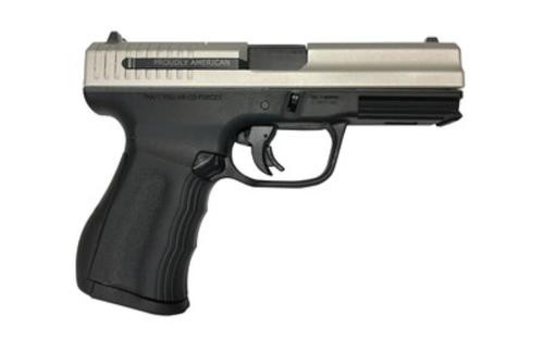 "FMK 9C1 G2 9mm, 4"" Barrel, 14rds, Black Frame/Stainless Steel Slide"