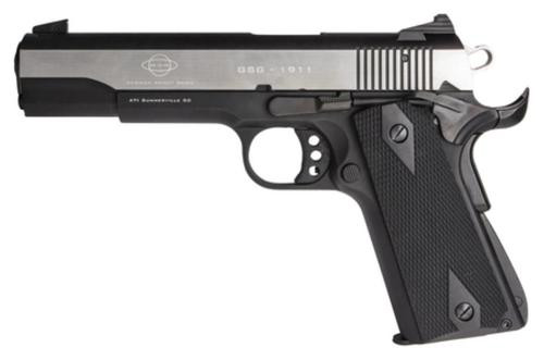 "GSG Model 1911, 22LR, 5"" Threaded Barrel, 10rd, Polished Slide"