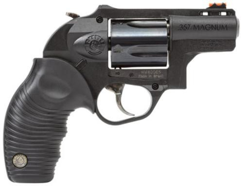 "Taurus M605 .357 Mag, 2"", 5rd, Hard Rubber Grip, Poly Frame, Blued"