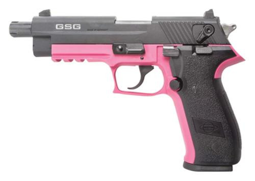 "GSG Firefly 22LR, 4"" Threaded Barrel, 10rd, Pink Frame"