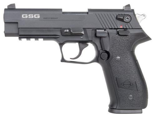 "GSG Firefly 22LR, 4"", 10rd, Adj. Sights, Black Zinc Alloy"