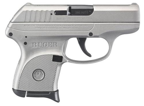 "Ruger LCP .380 ACP, 2.75"", 6rd, Fixed Sights, Savage Stainless Cerakote"