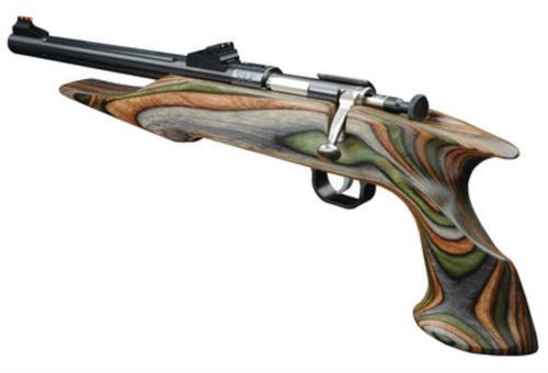 """Keystone Crickett Davey Chipmunk Hunter Pistol 22LR, 10.5"""", Laminated Barracuda Stock"""