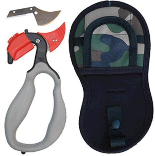 Wyoming Knife Stainless Skinner, Gut Hook Blade Polymer Handle Plain