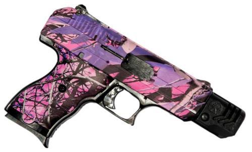 "Hi-Point .380 ACP, 3.5"", 8rd, Muddy Girl Pink Camo, Compensator"