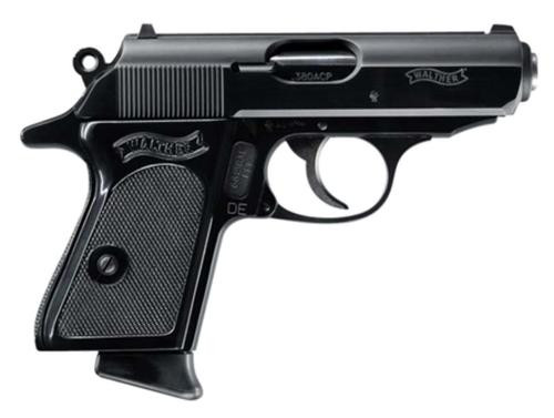 Walther PPK .380 ACP Blue 6 Round, 2 Mags