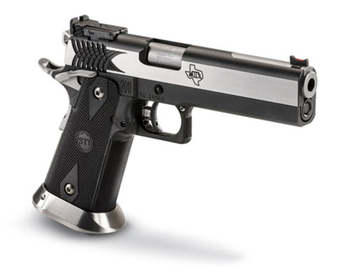 "STI Apeiro 9mm, SS Slide 5.0"" Island Barrel, 2 X 18 RD. MAG"