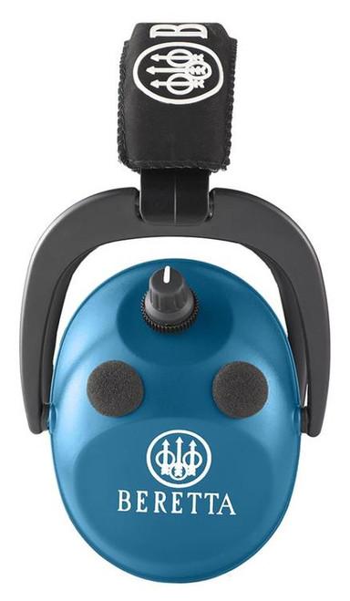 Beretta Hearing Protection Electronic Earmuff AFT 26 dB Blue