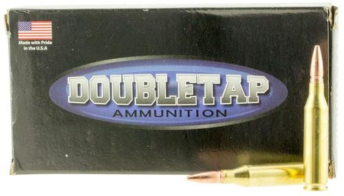 DoubleTap Ammunition Lead Free, 243 Win, 85Gr, Solid Copper Hollow Point, 20rd Box, CA Certified Nonlead Ammunition