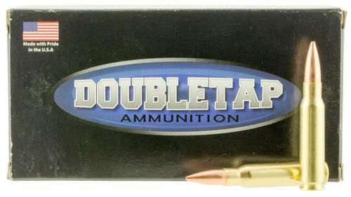 DoubleTap DT Longrange 308 Win/7.62mm 155gr, Hollow Point Boat Tail 20rd Box