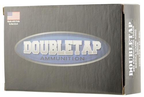 DoubleTap DT Longrange 280 Remington 160gr, Sierra GameKing 20rd Box