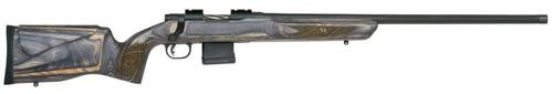 "Mossberg MVP Varmint Bolt 204 Ruger 24"" Barrel, Laminate Benchrest Gray Stock, Blued, 10rd"