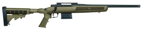 "Mossberg MVP Flex Bolt 308 Win/7.62mm 18.5"" Barrel, 6-Position Tan, 10rd"