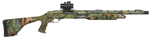 "Mossberg 535 Turkey Pump 12 Ga 20"" 3.5"" FO/Red Dot Synthetic Stock, PG Mossy Oak"