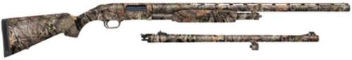 """Mossberg 500 Field/Deer Combo Pump 12 Ga 28""""/24"""" Barrel, Mossy Oak Break-U, 5rd"""